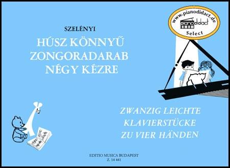 Zwanzig leichte Klavierstücke zu vier Händen