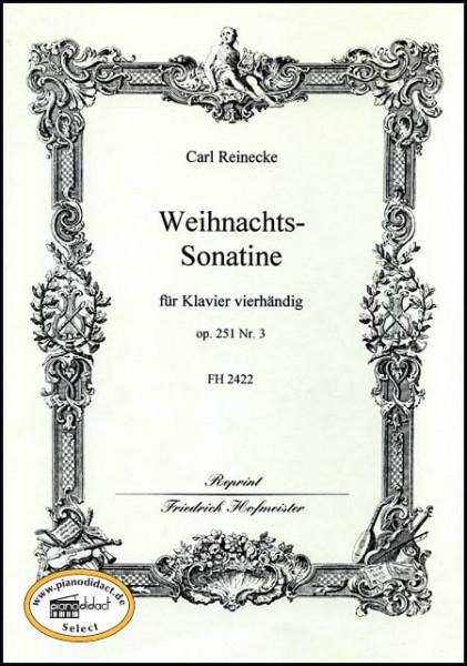 Weihnachts-Sonatine, für Klavier vierhändig, op. 251/3