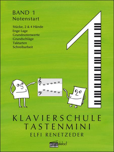 Klavierschule Tastenmini Band 1 Notenstart