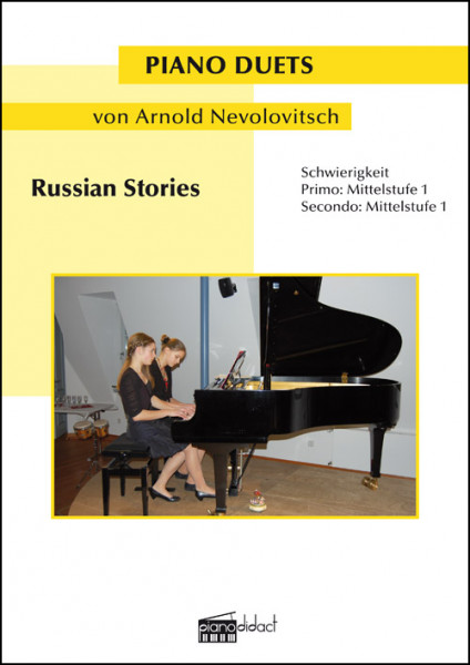 Russian Stories (Piano Duets)