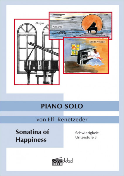 Sonatina of Happiness (Piano Solo)
