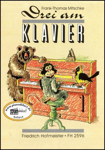 Drei am Klavier Heft 1