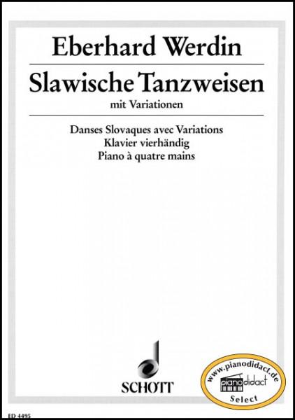 Slawische Tanzweisen mit Variationen