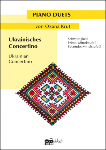 Ukrainisches Concertino (Piano Duets)