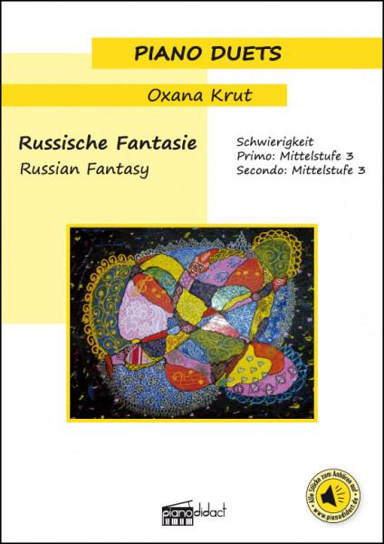 Russische Fantasie (Piano Duets)