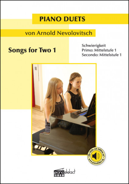 Songs for Two 1 (Piano Duets)