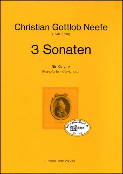 Drei Sonaten für Klavier