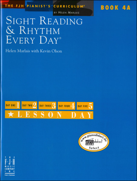 Sight Reading & Rhythm Book 4A