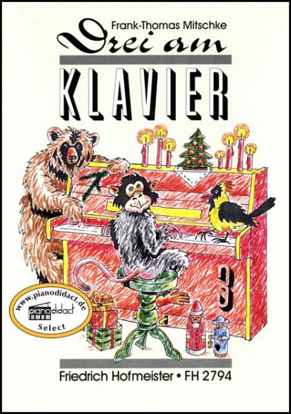 Drei am Klavier Heft 3