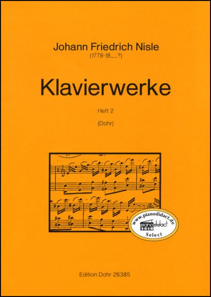 Klavierwerke (Heft 2)