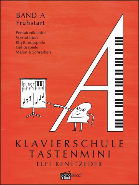 Coverseite Klavierschule Tastenmini Band A