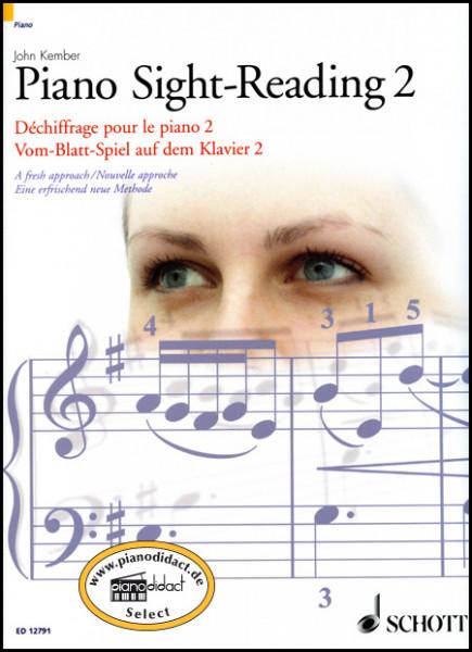 Vom-Blatt-Spiel auf dem Klavier 2