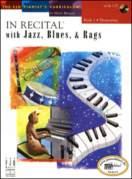 In Recital with Jazz, Blues & Rags, Book 2