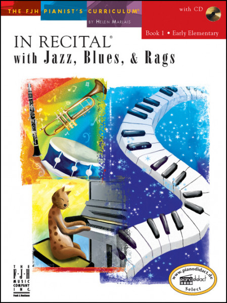 In Recital with Jazz, Blues & Rags, Book 1