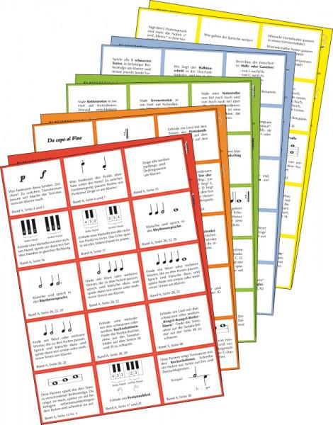 Lernspielkarten Band A bis 3