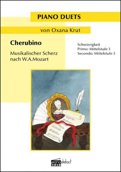 Cherubino - musikalischer Scherz nach W.A.Mozart (Piano Duets)