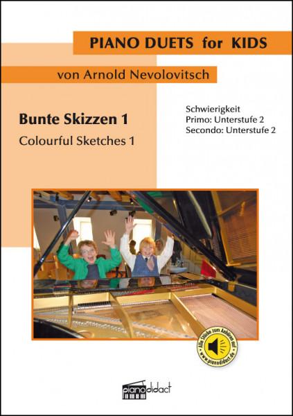 Bunte Skizzen 1 (Piano Duets)