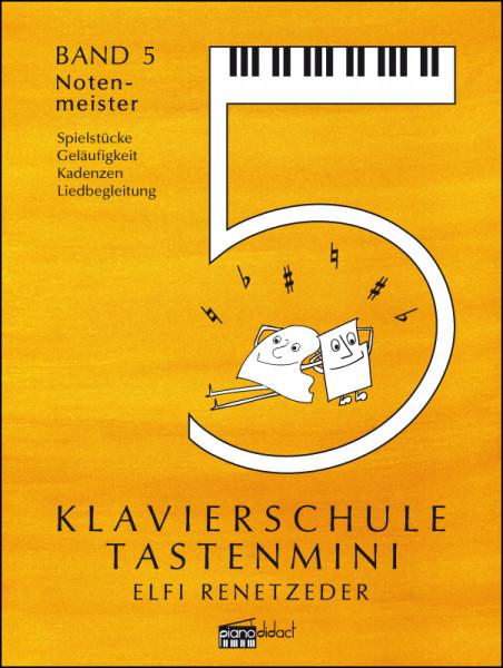 Klavierschule Tastenmini Band 5 Notenmeister