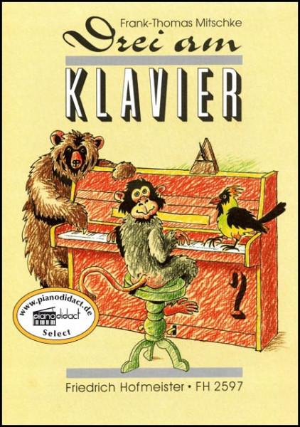 Drei am Klavier Heft 2