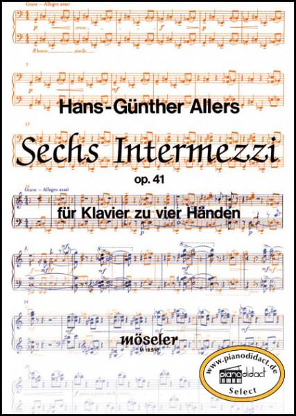 Sechs Intermezzi op. 41