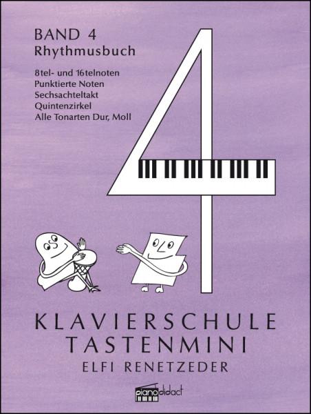 Klavierschule Tastenmini Band 4 Rhythmusbuch
