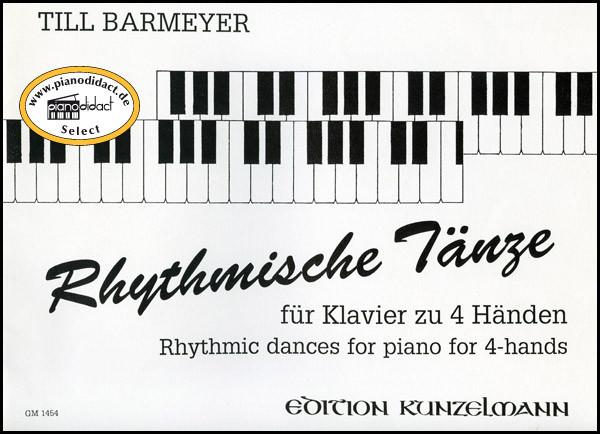 Rhythmische Tänze für Klavier zu 4 Händen