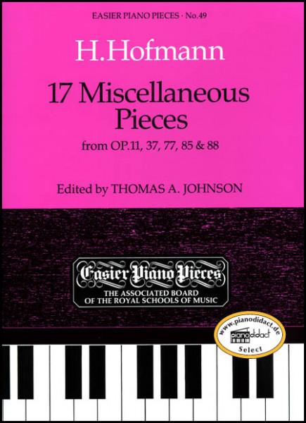 17 Miscellaneous Pieces