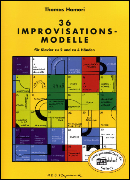 36 Improvisationsmodelle