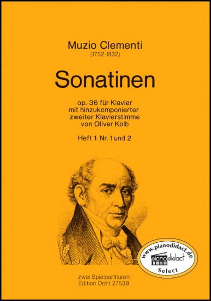 Sonatinen op.36 Heft 1 Nr. 1/2