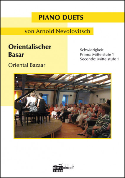 Orientalischer Basar (Piano Duets)