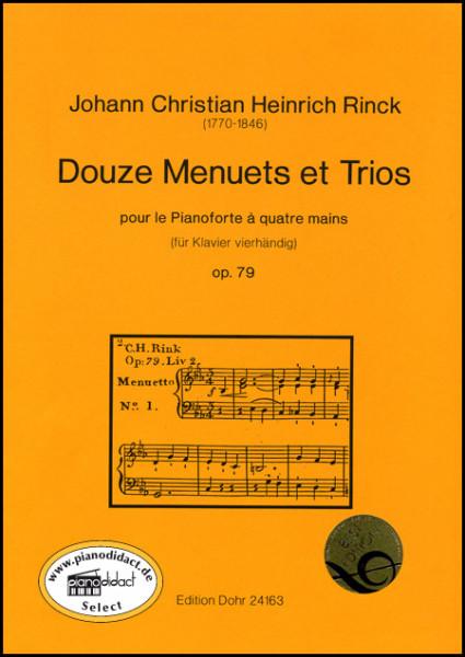 Douze Menuets et Trios