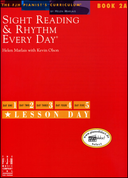 Sight Reading & Rhythm Book 2A